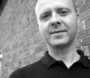 Iain Aitch headshot black and white